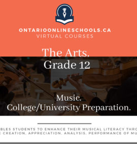 Grade 12, The Arts. Music. University/College Preparation, AMU4M
