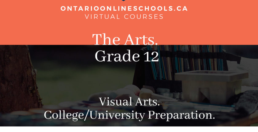 Grade 12, The Arts. Visual Arts. University/College Preparation, AVI4M